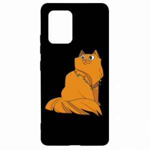 Samsung S10 Lite Case Christmas cat