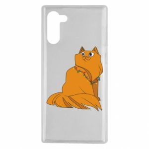 Samsung Note 10 Case Christmas cat