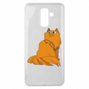 Samsung J8 2018 Case Christmas cat