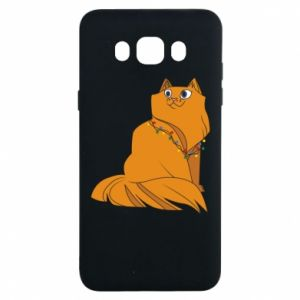 Samsung J7 2016 Case Christmas cat