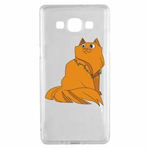 Samsung A5 2015 Case Christmas cat