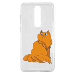 Nokia 5.1 Plus Case Christmas cat