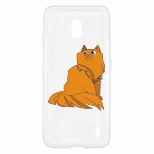 Nokia 2.2 Case Christmas cat