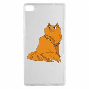 Huawei P8 Case Christmas cat