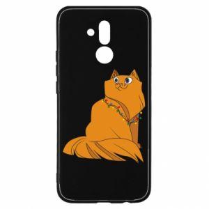 Huawei Mate 20Lite Case Christmas cat