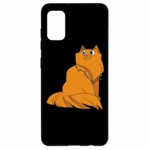 Samsung A41 Case Christmas cat