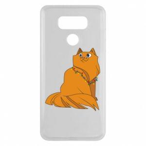 LG G6 Case Christmas cat