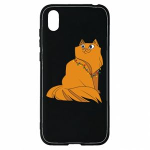 Huawei Y5 2019 Case Christmas cat