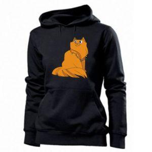 Women's hoodies Christmas cat