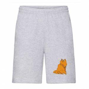 Men's shorts Christmas cat