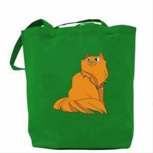 Bag Christmas cat
