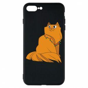 iPhone 7 Plus case Christmas cat