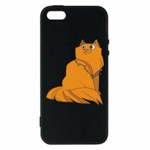 iPhone 5/5S/SE Case Christmas cat