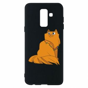 Samsung A6+ 2018 Case Christmas cat