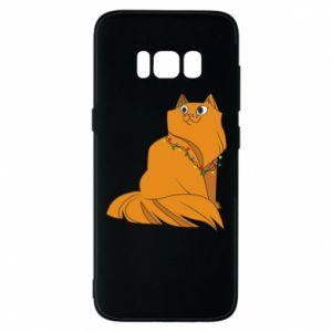 Samsung S8 Case Christmas cat
