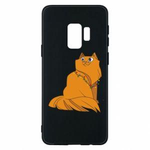 Samsung S9 Case Christmas cat