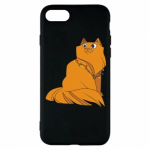 iPhone 8 Case Christmas cat