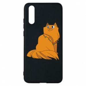 Huawei P20 Case Christmas cat