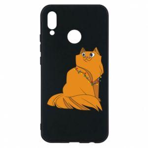Huawei P20 Lite Case Christmas cat