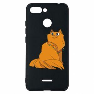 Xiaomi Redmi 6 Case Christmas cat