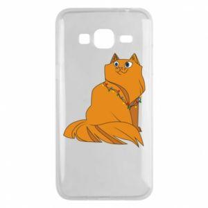 Samsung J3 2016 Case Christmas cat