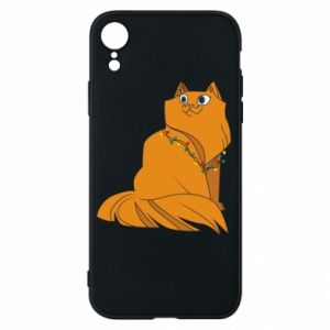 iPhone XR Case Christmas cat