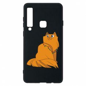 Samsung A9 2018 Case Christmas cat