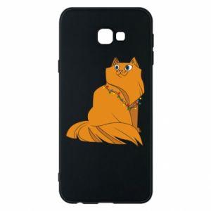 Samsung J4 Plus 2018 Case Christmas cat