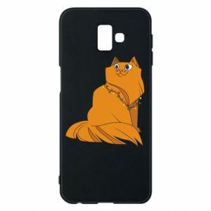 Samsung J6 Plus 2018 Case Christmas cat