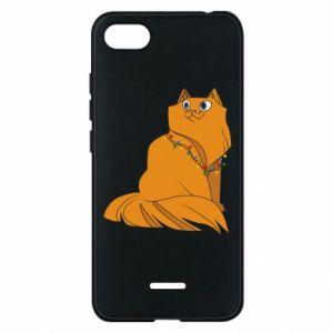 Xiaomi Redmi 6A Case Christmas cat