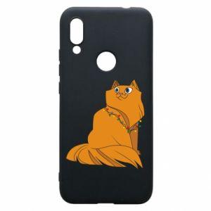 Xiaomi Redmi 7 Case Christmas cat