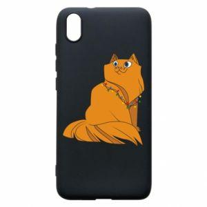 Xiaomi Redmi 7A Case Christmas cat