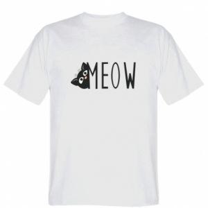 Koszulka Kot napis Meow