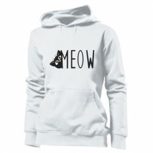 Damska bluza Kot napis Meow
