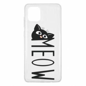 Etui na Samsung Note 10 Lite Kot napis Meow