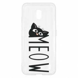 Etui na Nokia 2.2 Kot napis Meow
