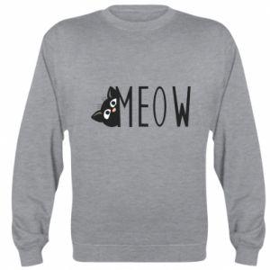 Bluza (raglan) Kot napis Meow