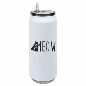 Puszka termiczna Kot napis Meow