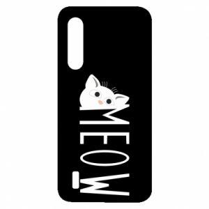 Etui na Xiaomi Mi9 Lite Kot napis Meow