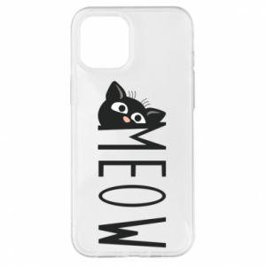 Etui na iPhone 12 Pro Max Kot napis Meow