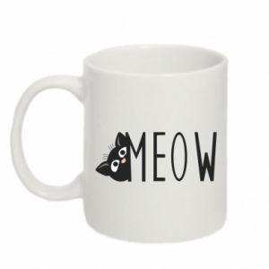 Kubek 330ml Kot napis Meow