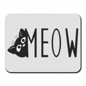 Podkładka pod mysz Kot napis Meow