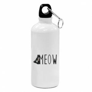 Bidon turystyczny Kot napis Meow