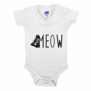 Body dla dzieci Kot napis Meow
