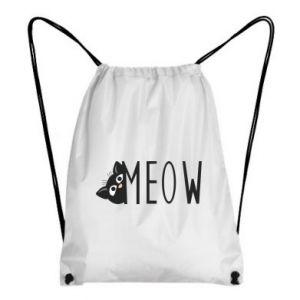 Plecak-worek Kot napis Meow