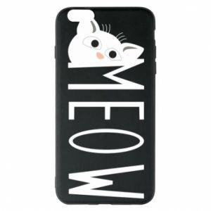 Etui na iPhone 6 Plus/6S Plus Kot napis Meow
