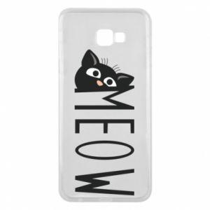 Etui na Samsung J4 Plus 2018 Kot napis Meow