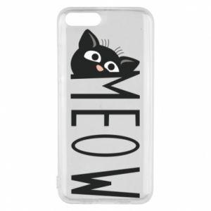 Etui na Xiaomi Mi6 Kot napis Meow