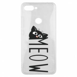 Etui na Xiaomi Mi8 Lite Kot napis Meow