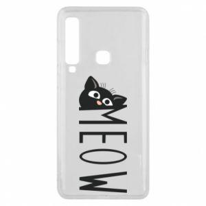 Etui na Samsung A9 2018 Kot napis Meow